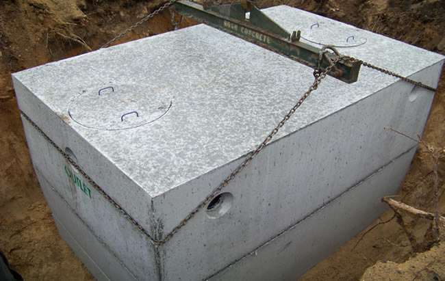 Septic Systems Bush Concrete Products